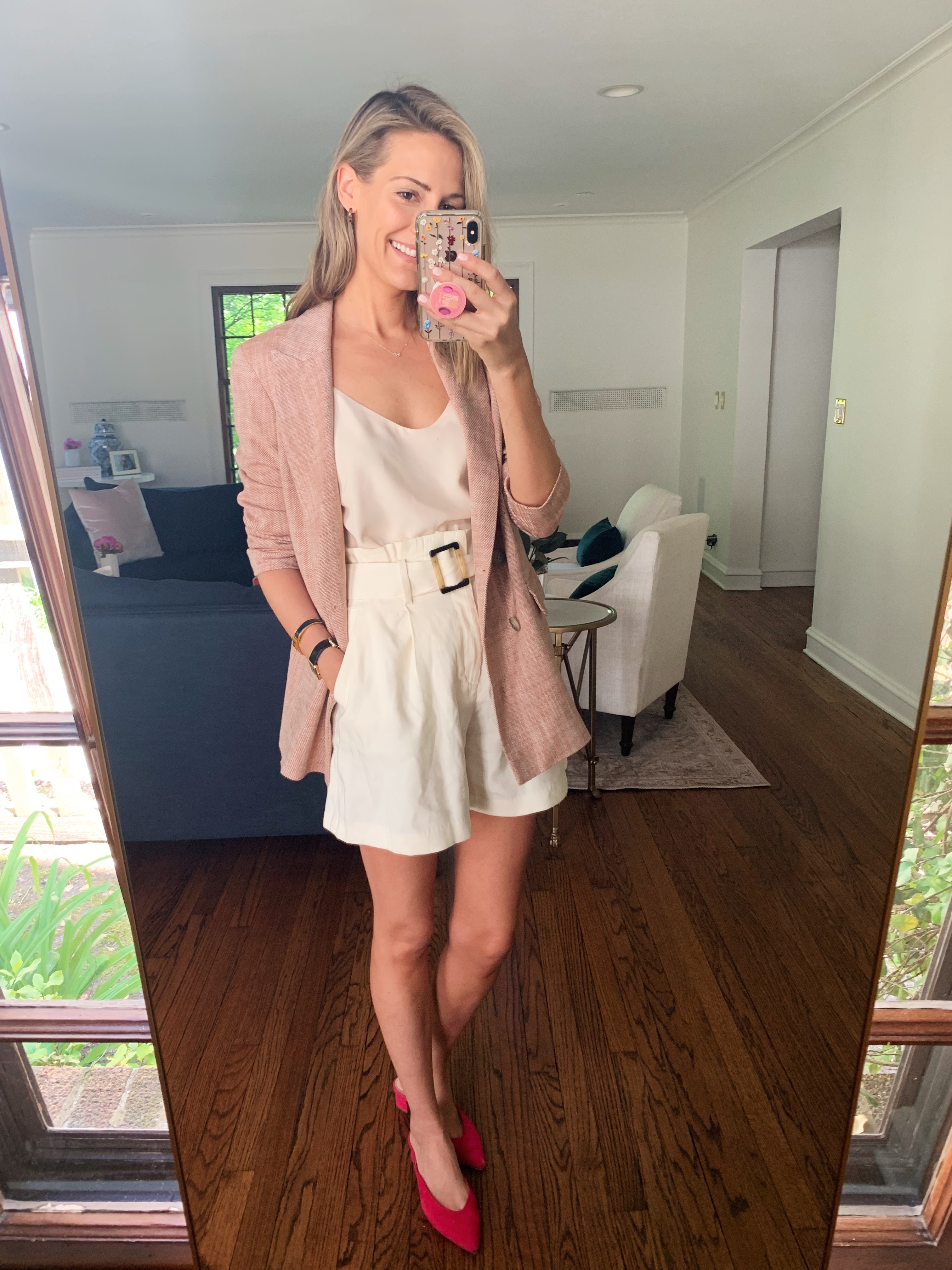 how to style a silk cami