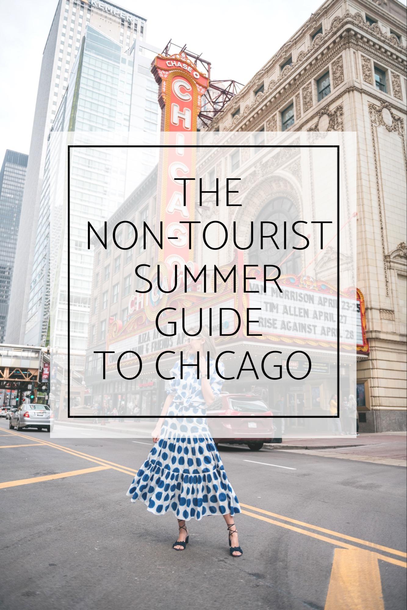 non-tourist chicago summer guide