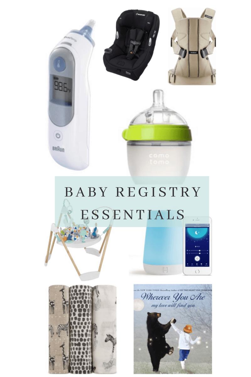 baby registry essentials