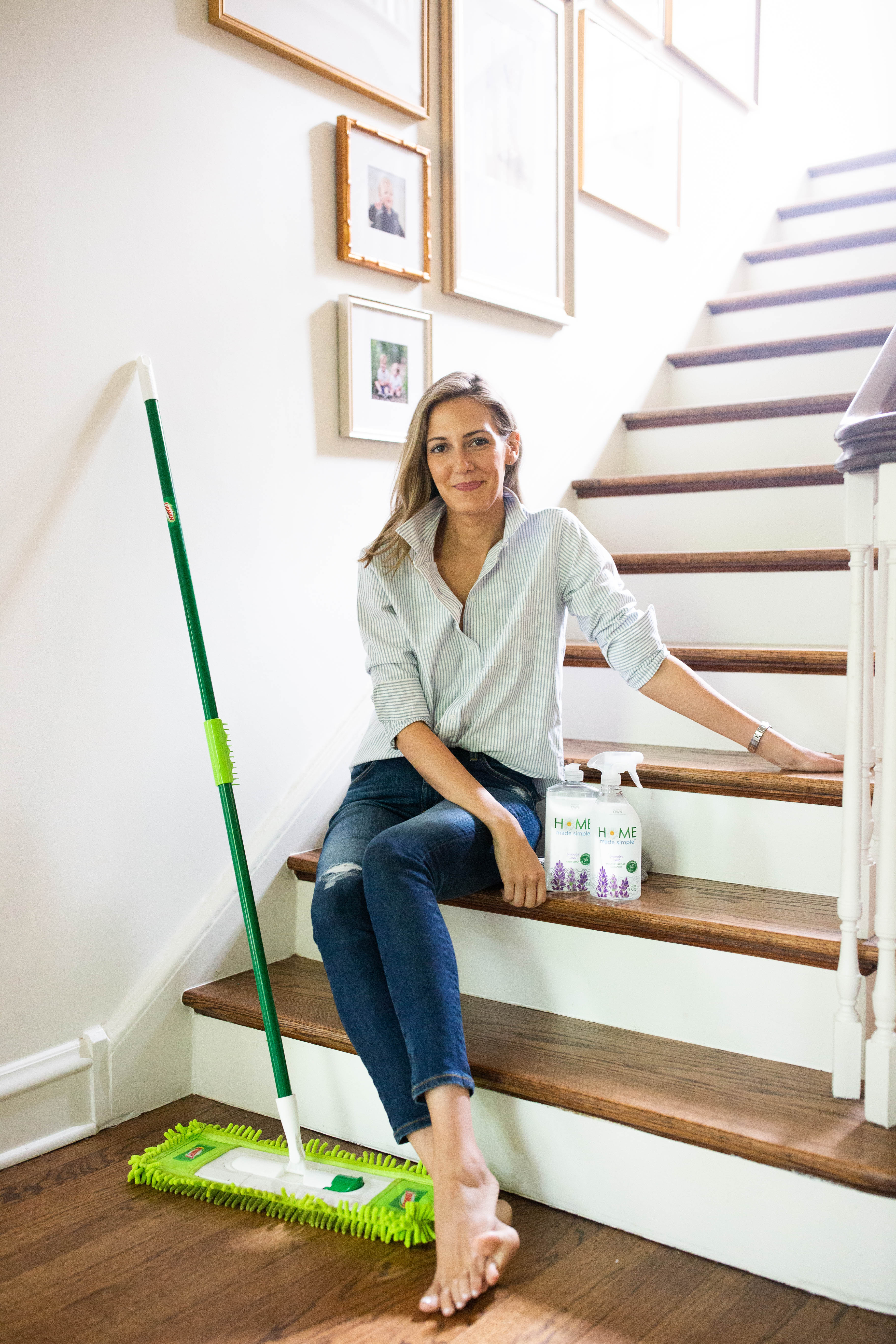 why I switched to natural cleaning products
