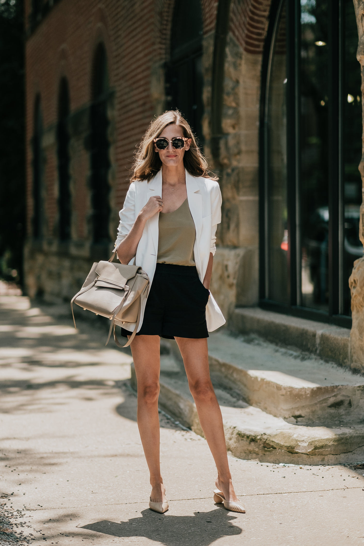 how to dress up shorts