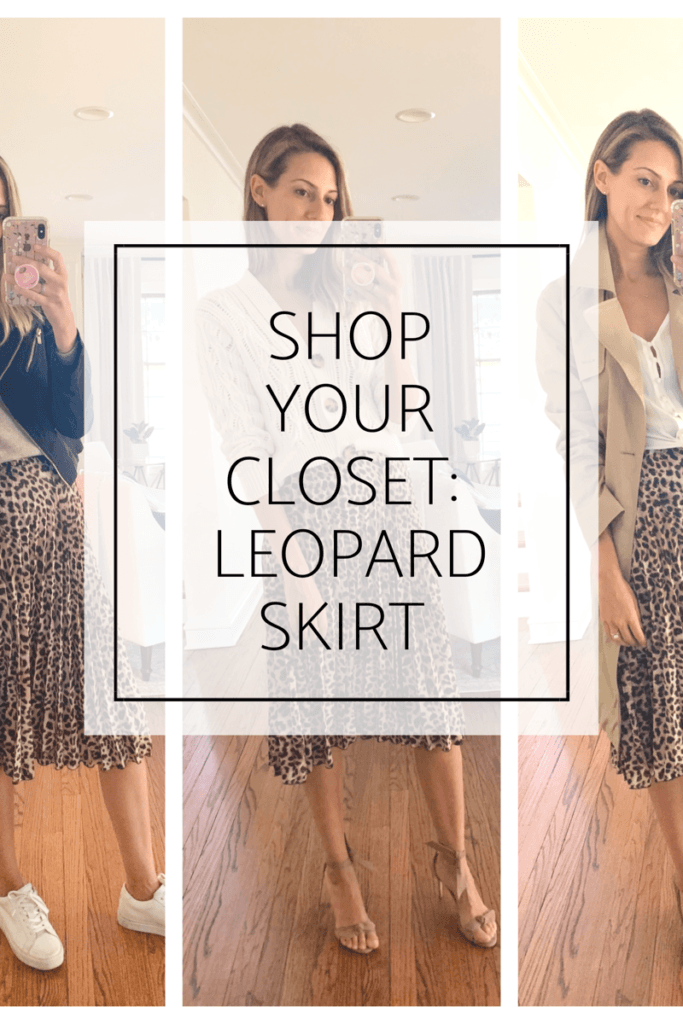 how to style leopard skirt