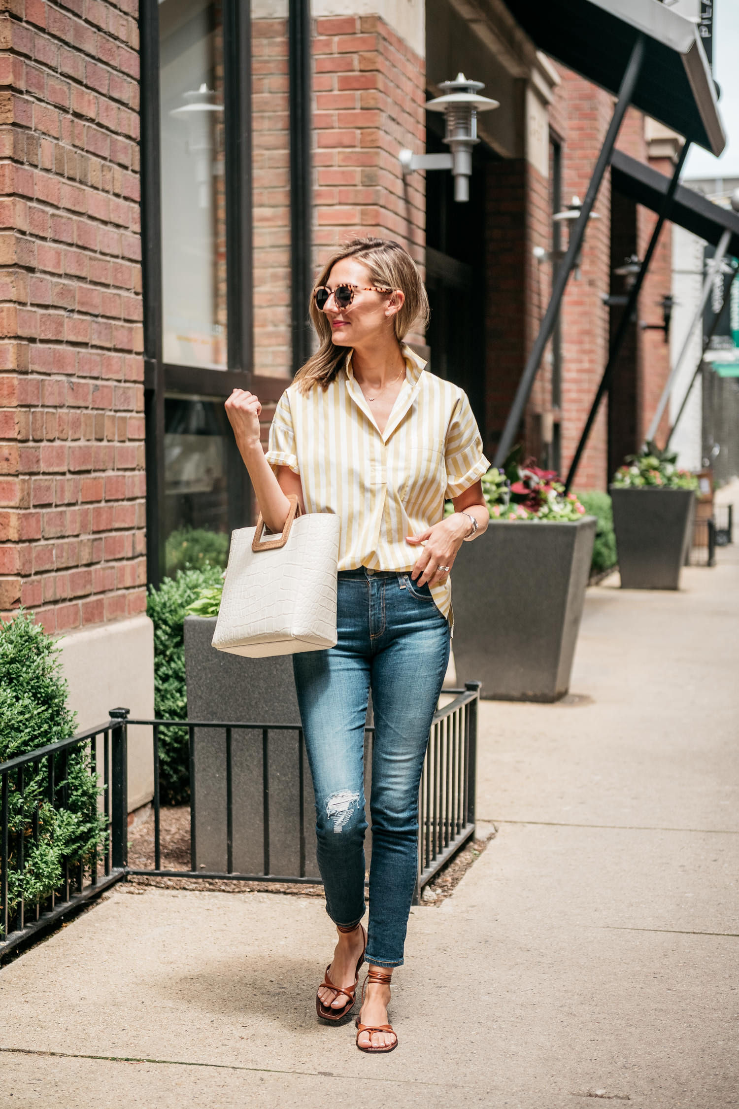 summer casual transition to fall