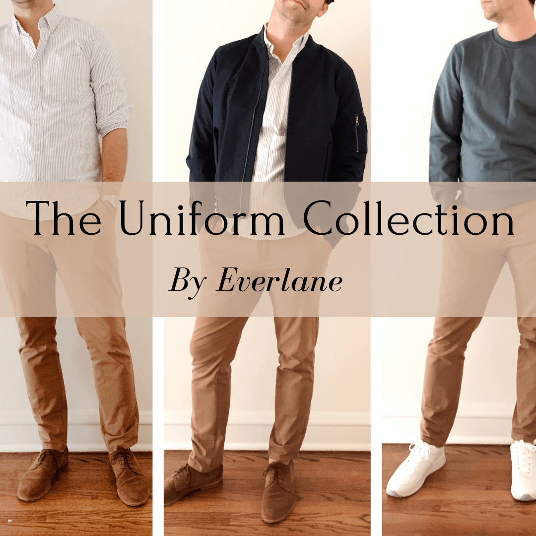 everlane uniform collection men's fall fashion