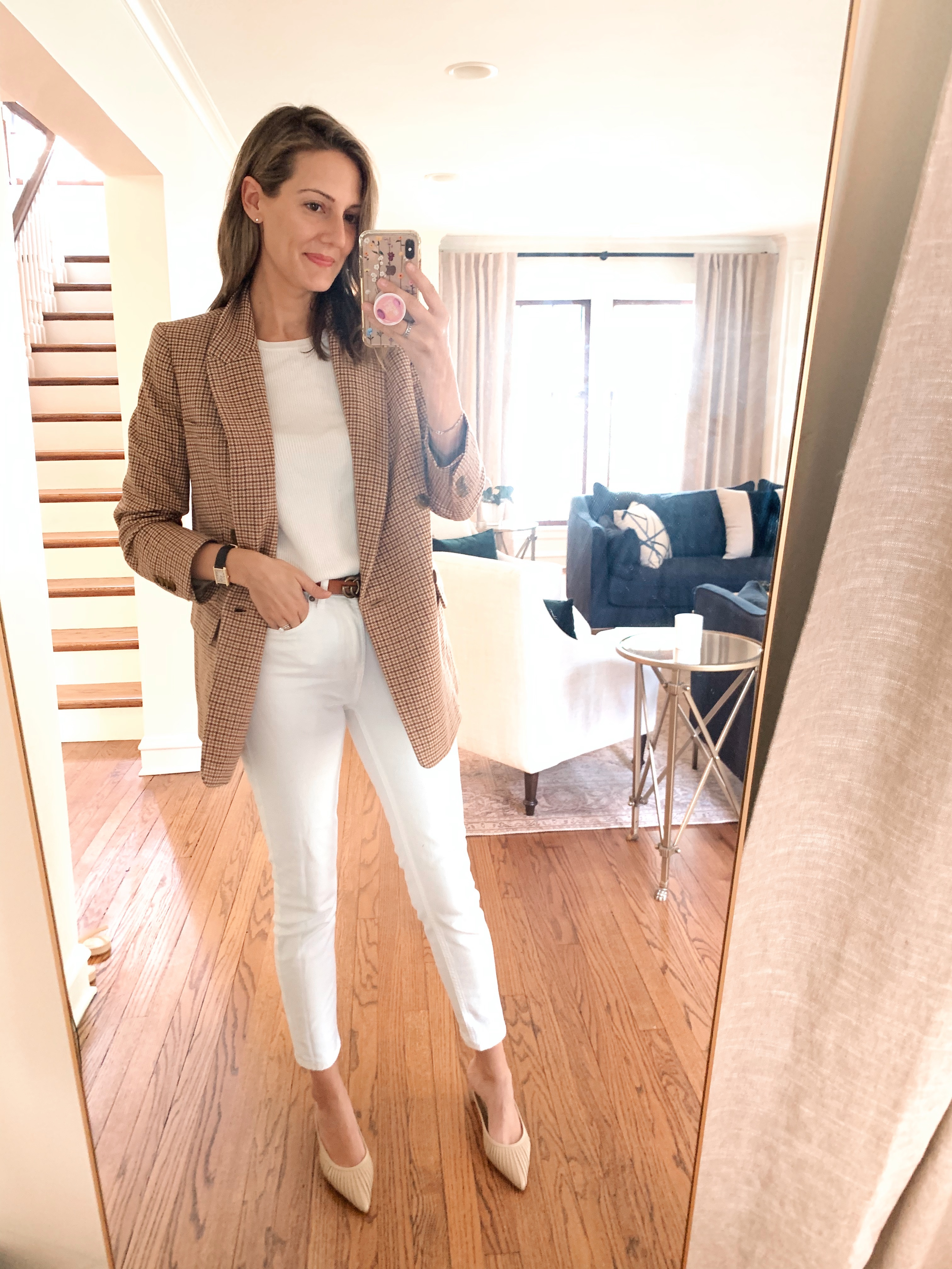 all white fall outfit