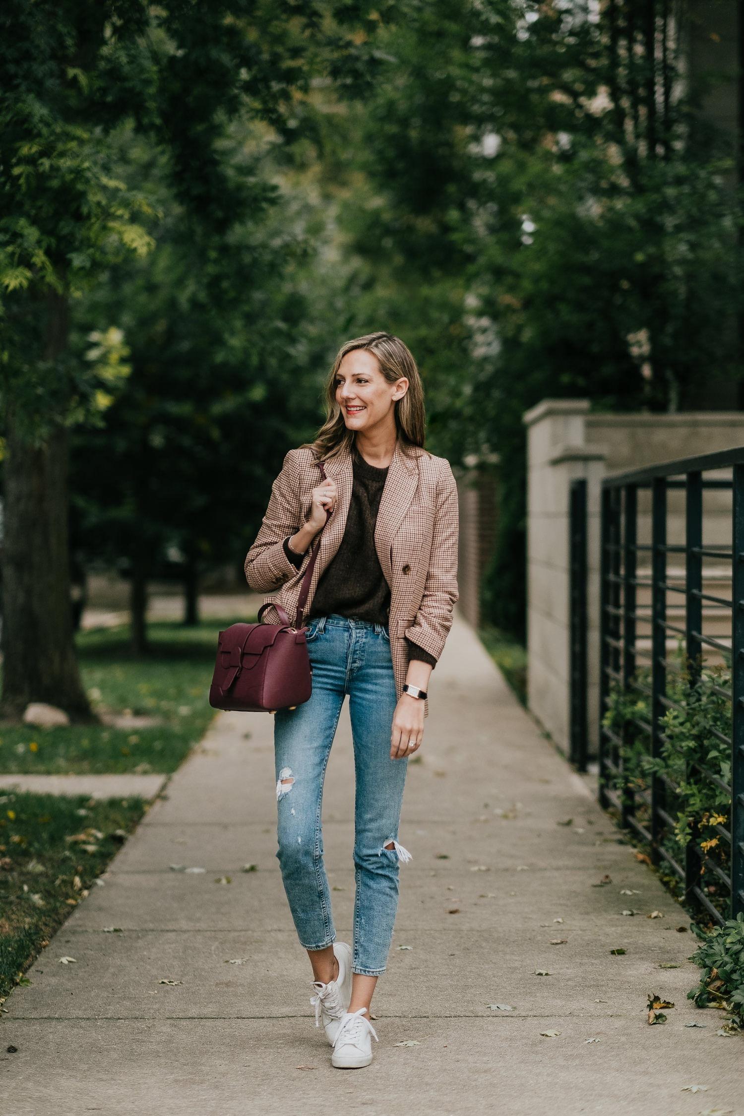 october everlane picks classic blazer style