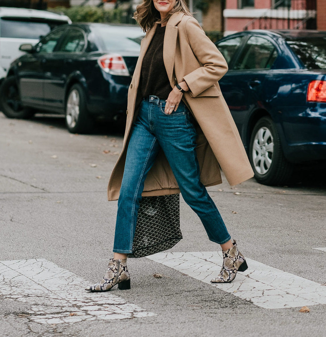 how to wear snakeskin boots