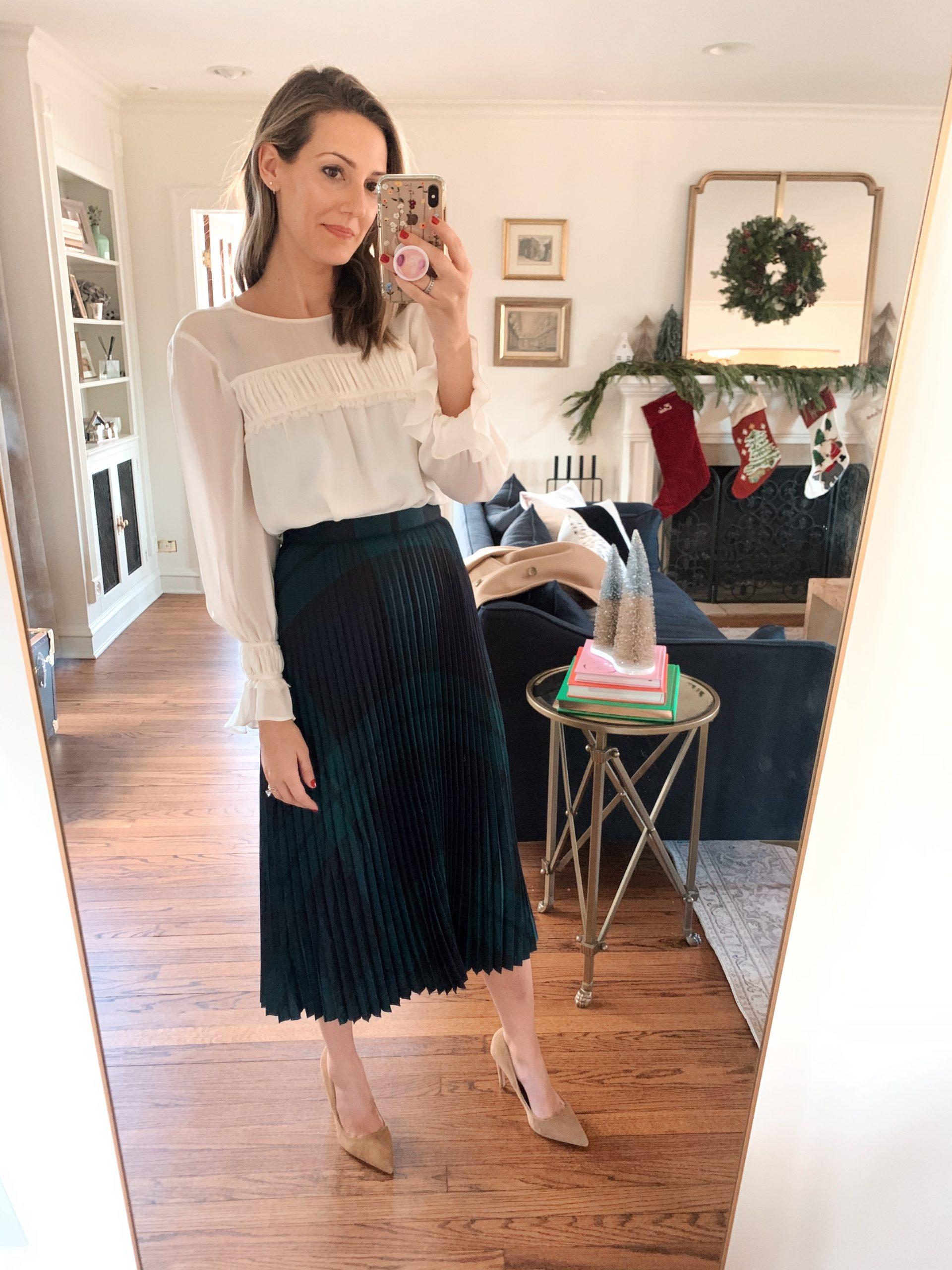 classic midi skirt style