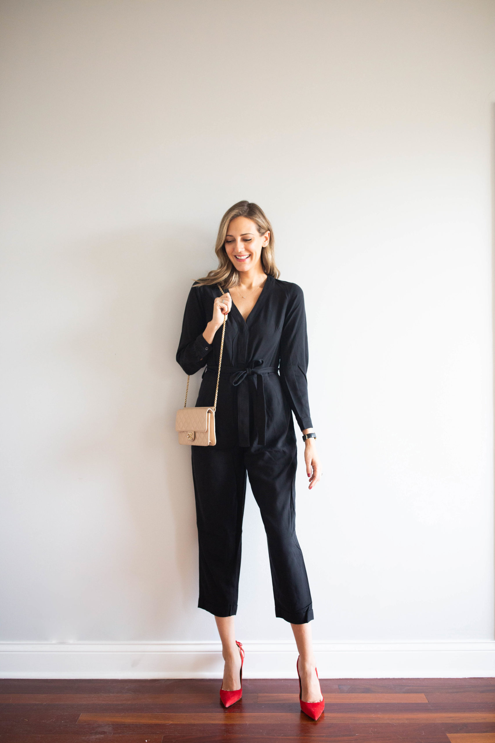 holiday jumpsuit