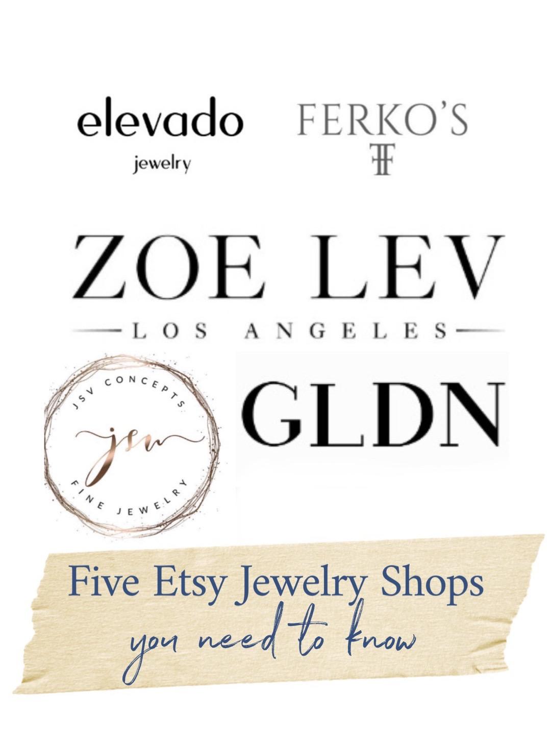 best etsy jewelry shops