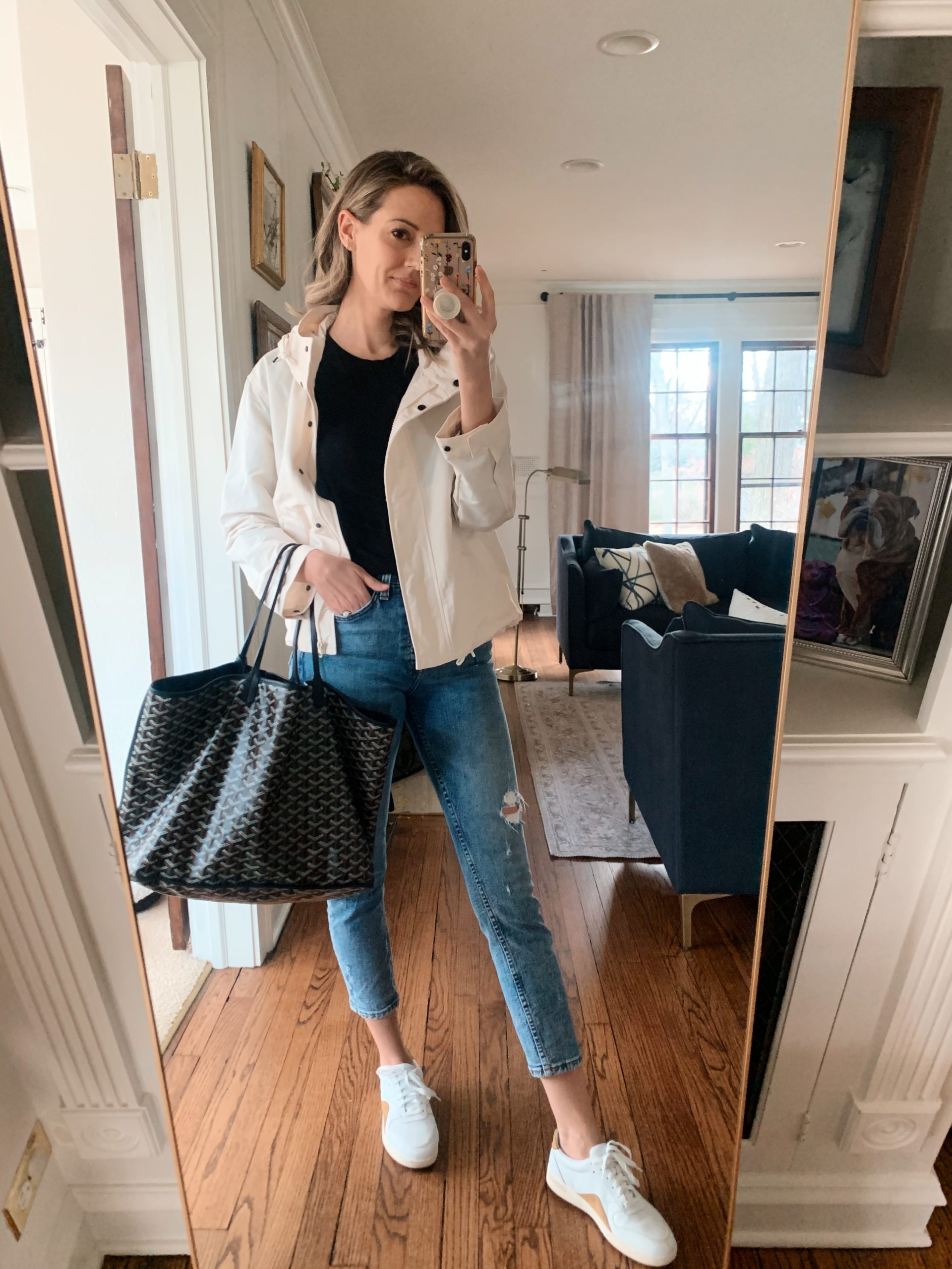 Everlane Jeans + More real outfit recap