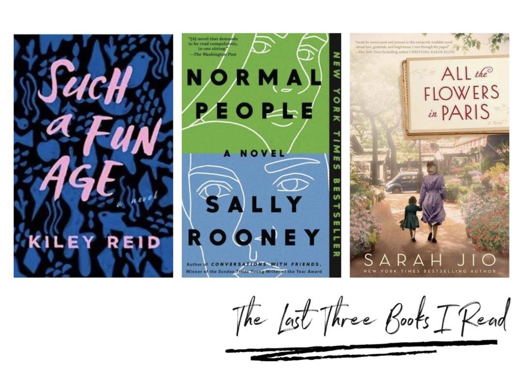 book reviews: The Last Three Books I Read