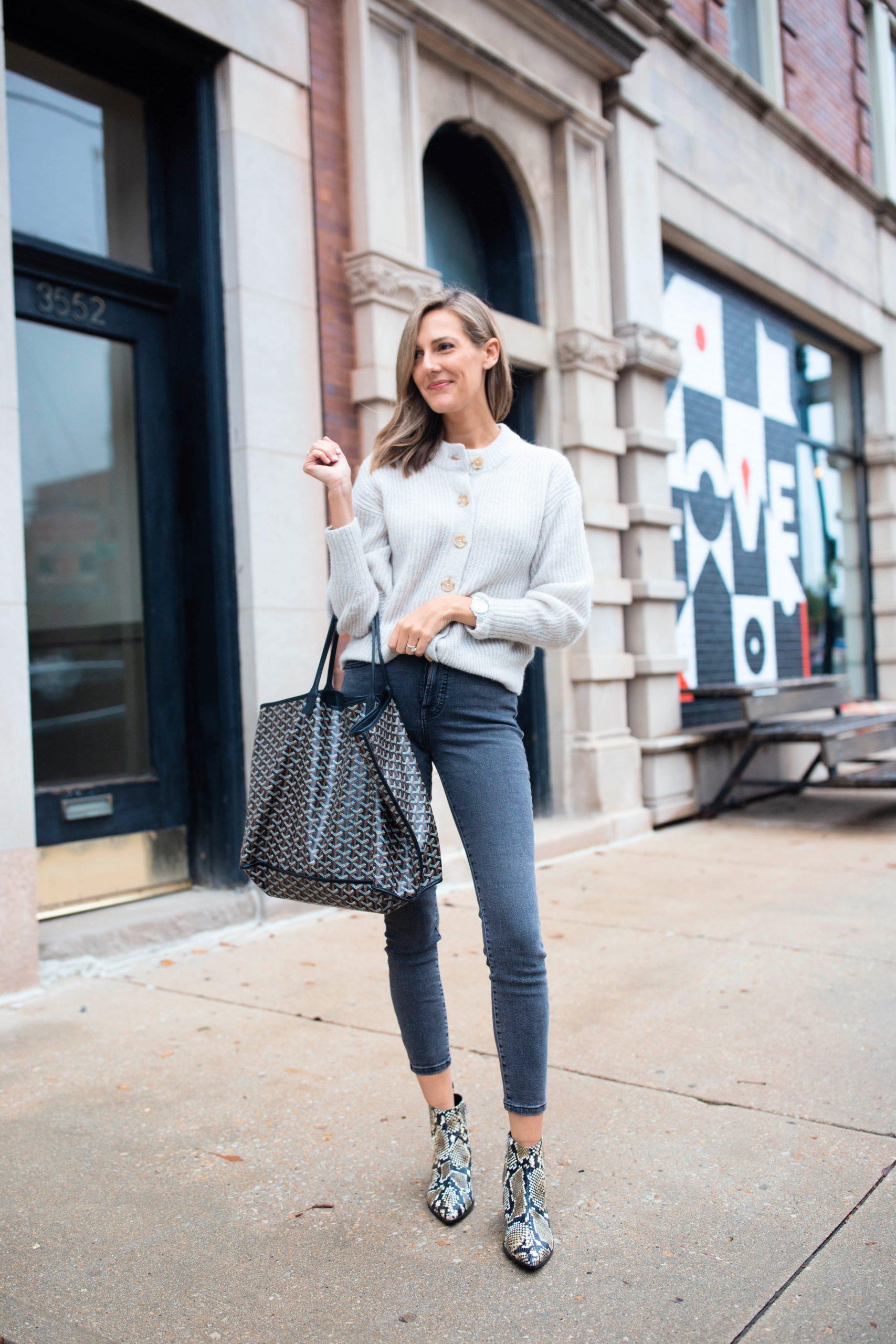 neutral greys jeans