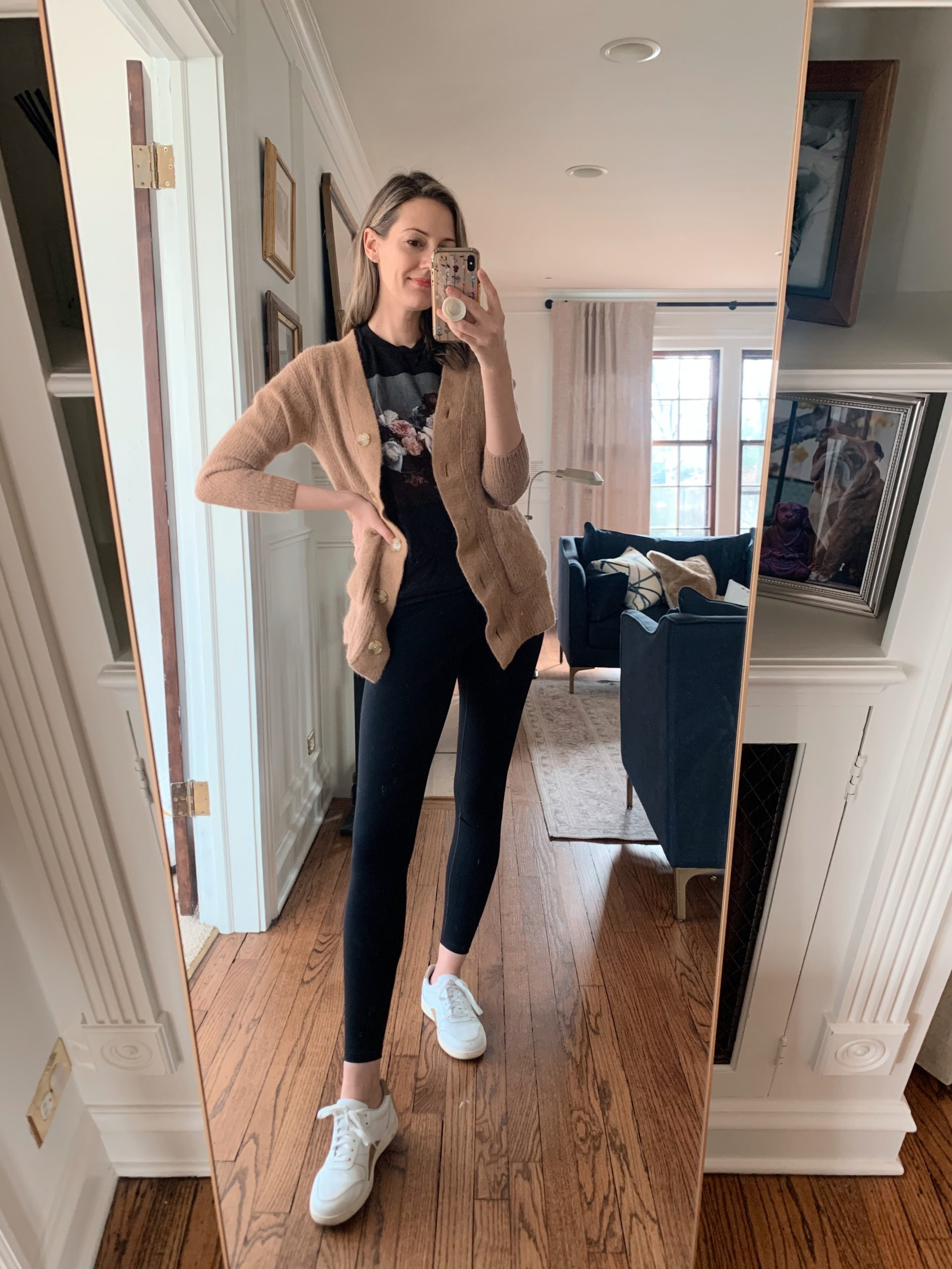 casual leggings look