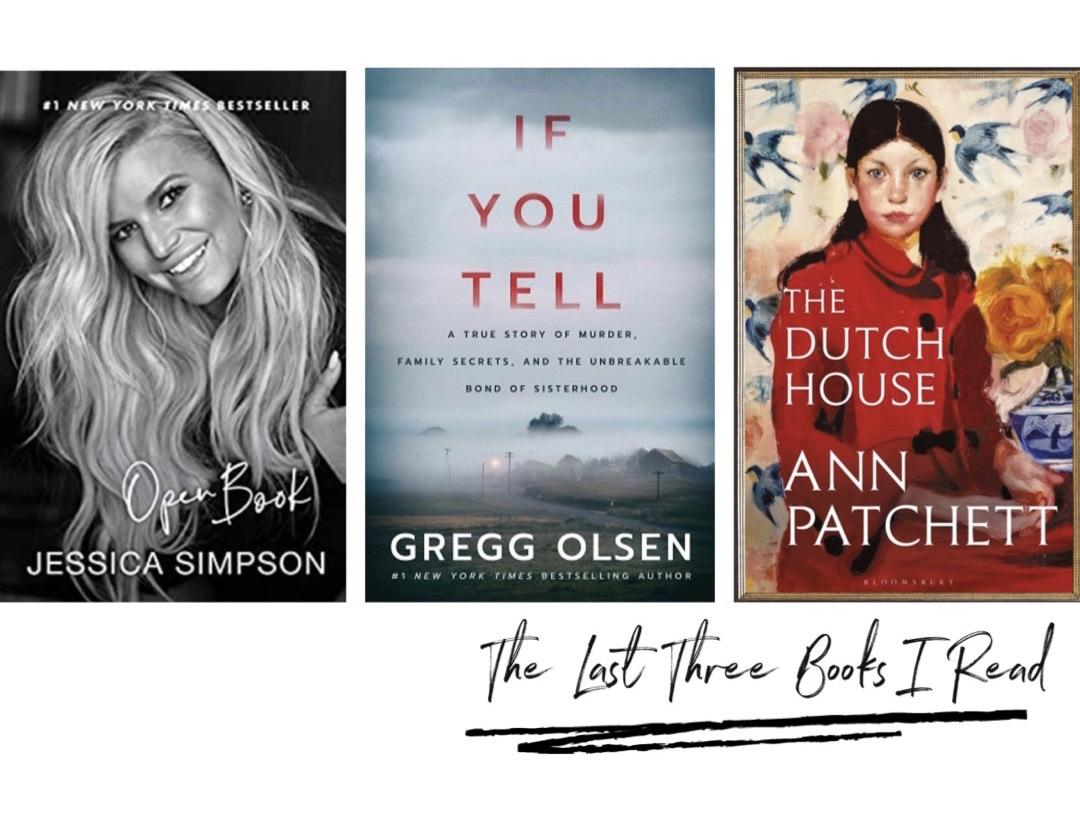 The Last Three Books I Read