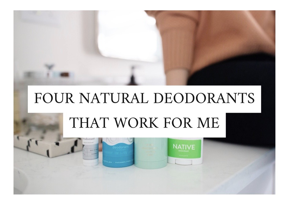 natural deodorant that works