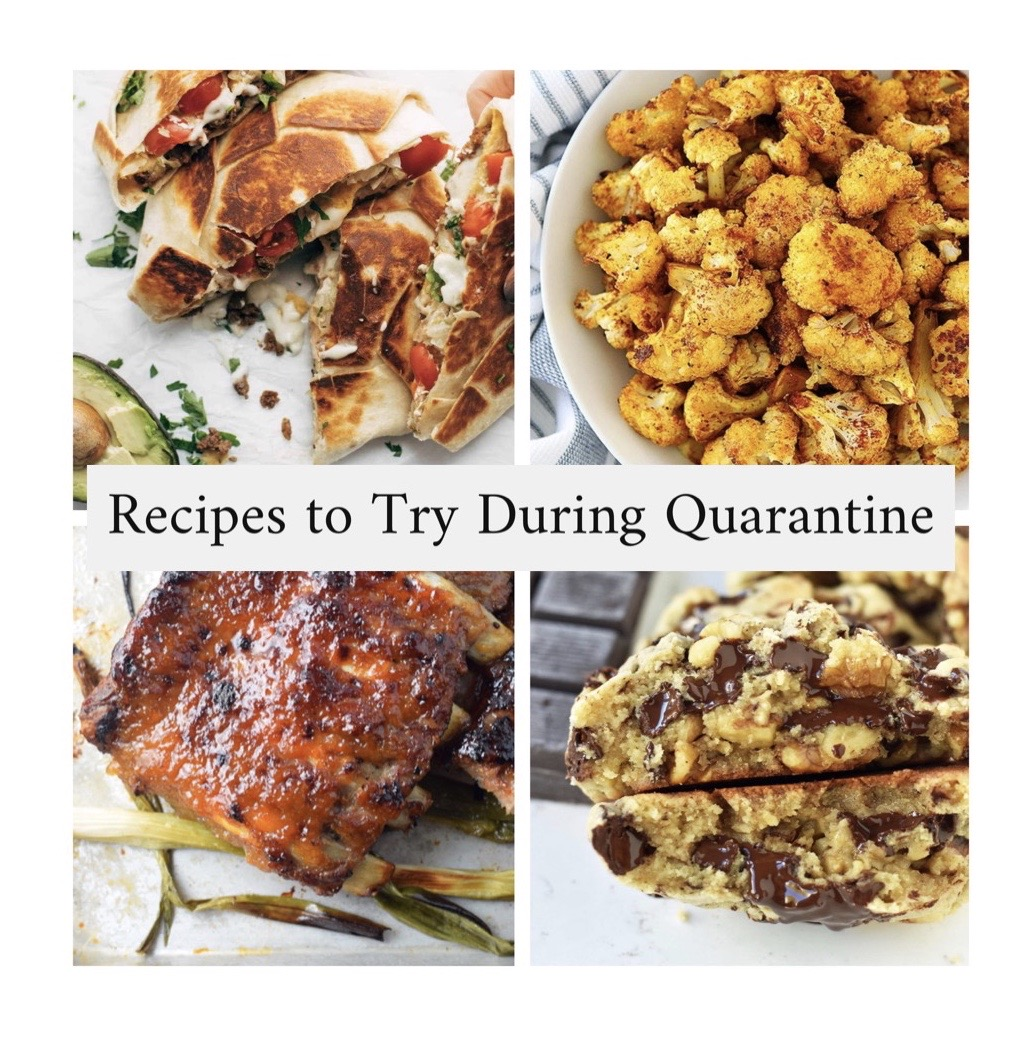quarantine recipes