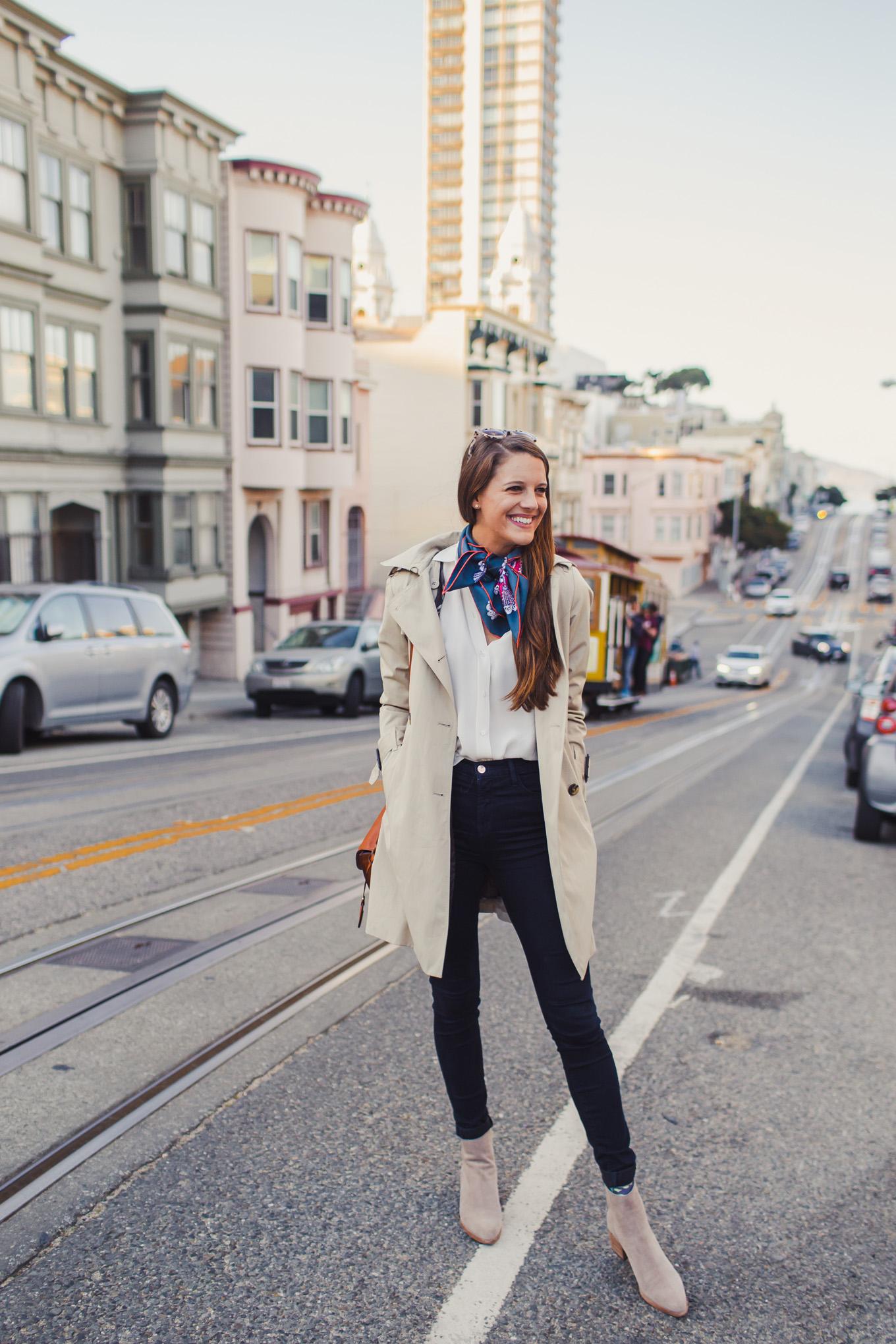 Jess Keys in the ultimate wardrobe staples