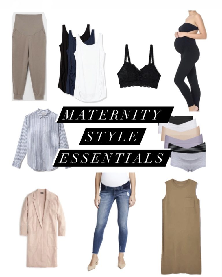 maternity style essentials