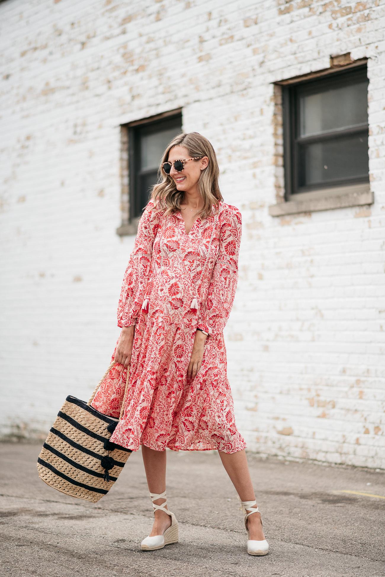 how to wear midi dresses