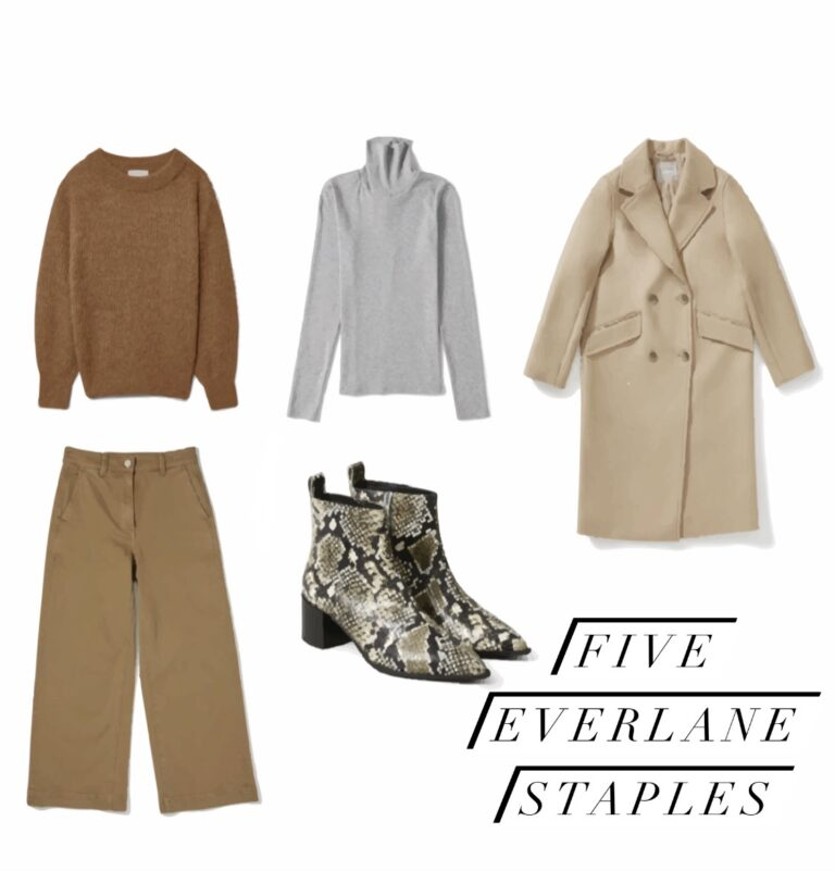 everlane staples