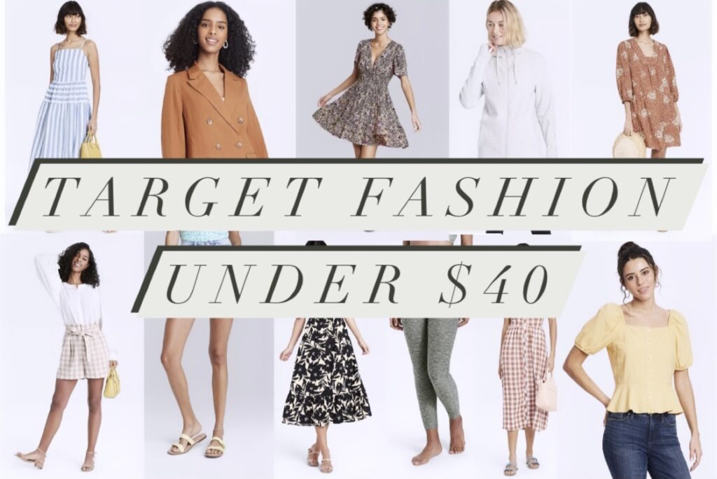 Target Fashion Finds Under $40