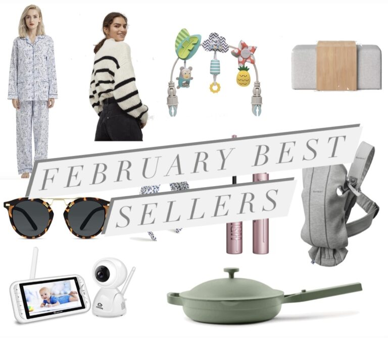 Top Sellers in February
