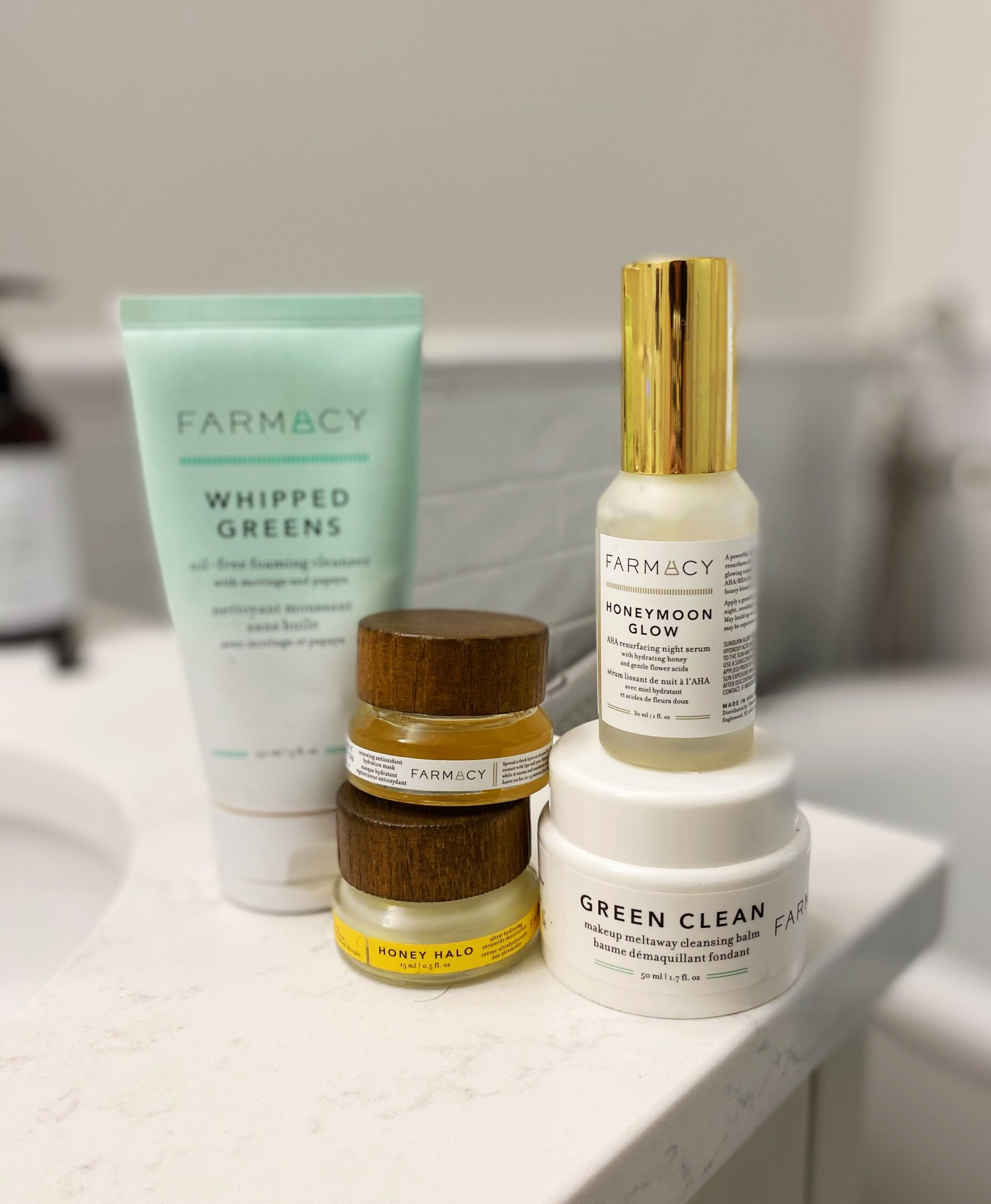 products from farmacy beauty
