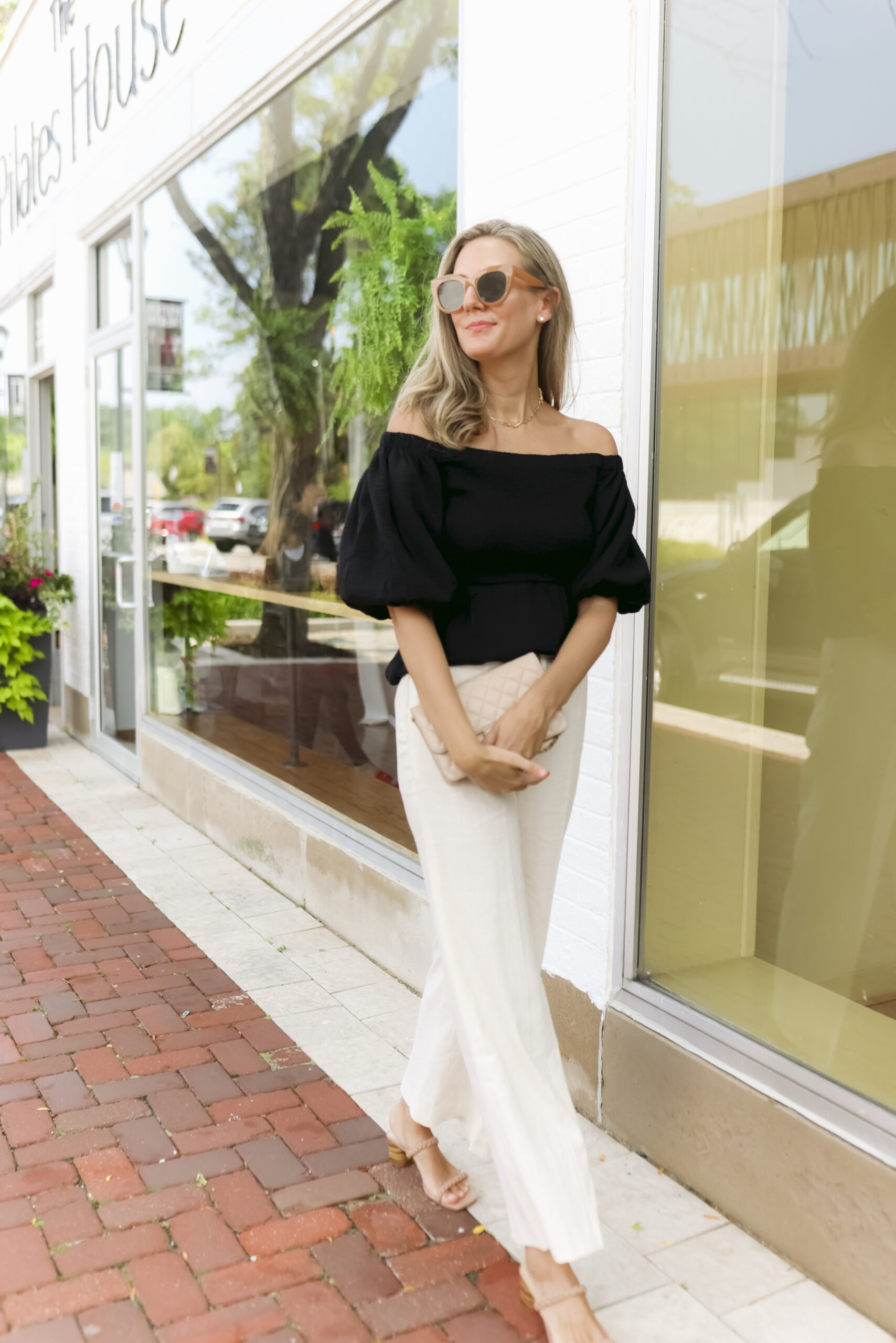 woman wearing clothes from New Styles from Nordstrom Made