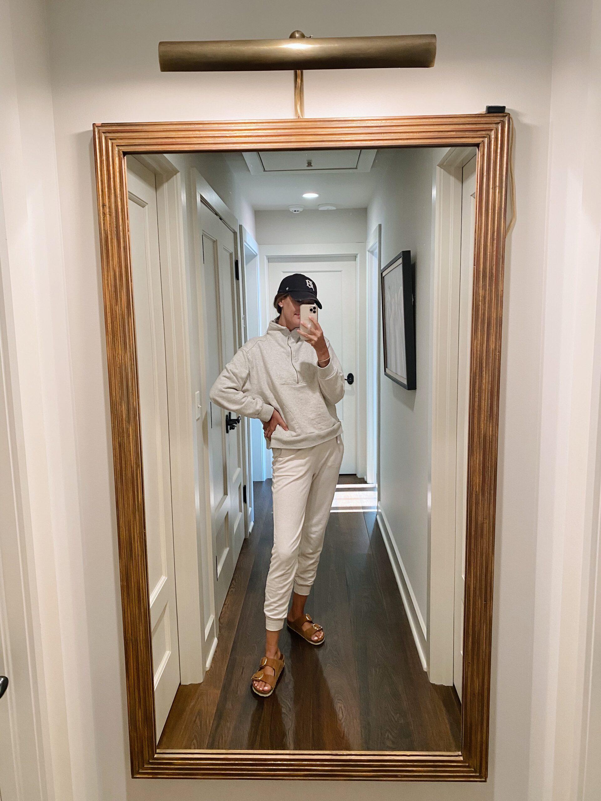 Real Outfit Recap woman wearing sportswear