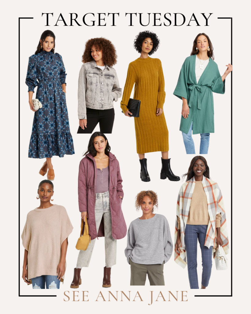 Target Tuesday spring and fall items