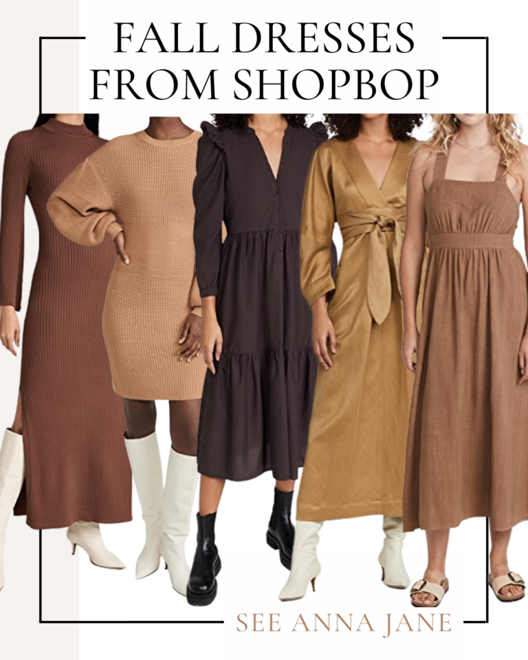 collage of clothes from Shopbop sale picks